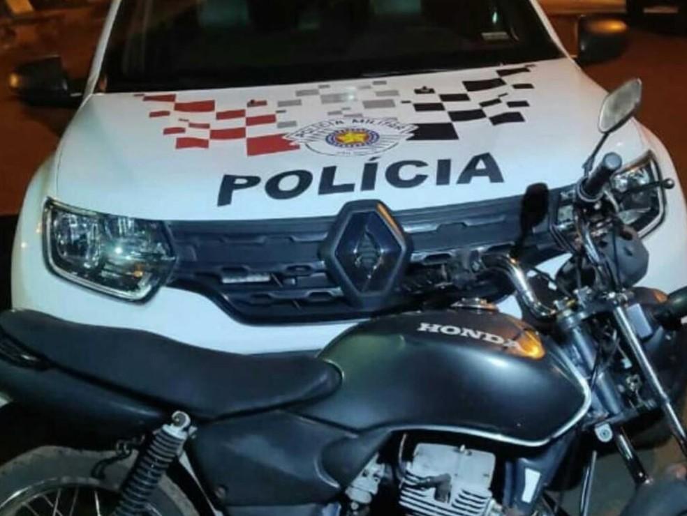 Suspeito de violência doméstica foi preso em Andradina (SP) — Foto: Divulgação