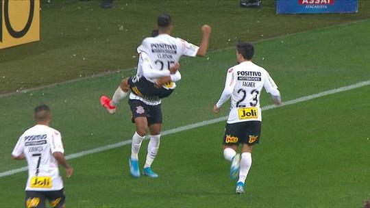 Assista aos gols de Corinthians 2 x 1 Bahia pelo Campeonato Brasileiro