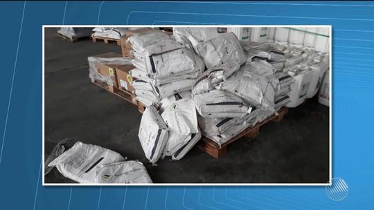 Criminosos entram com caminhão em galpão de empresa e roubam 16 mil litros de defensivos agrícolas na BA