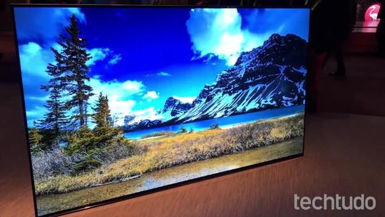 Sony lança nova linha de TVs OLED 4K com HDR na CES 2017