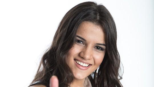 Amanda Lince já fez participação em show da dupla Marcos & Belutti
