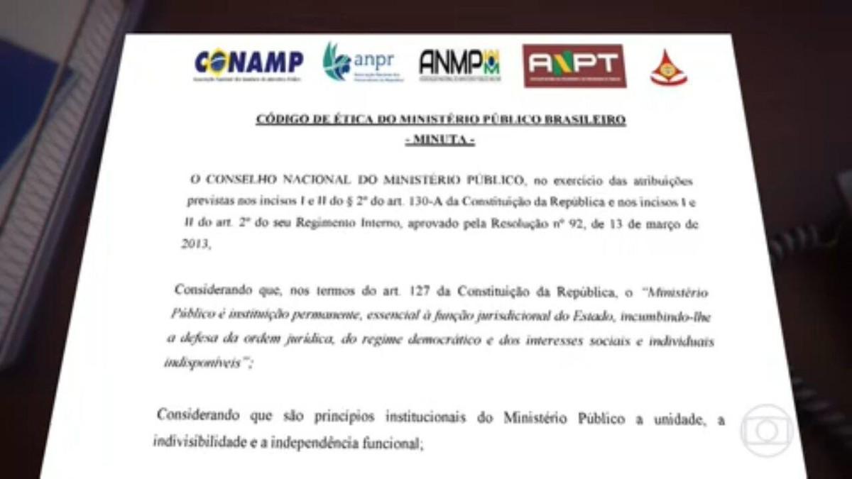 Integrantes do MP apresentam à PGR proposta de Código de Ética para a categoria
