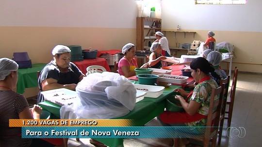 Festival Italiano de Nova Veneza abre inscrições para 1,2 mil vagas de emprego; veja como participar