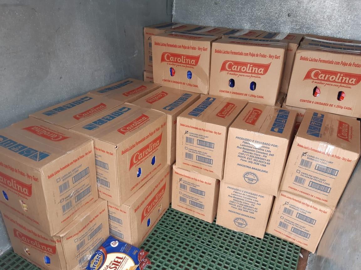 PRF apreende 300 kg de produtos derivados de leite transportados de forma irregular em Ocauçu