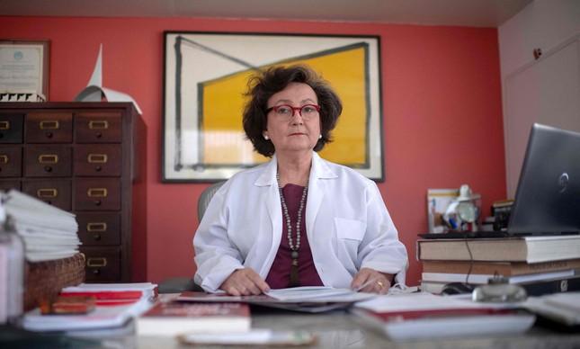 Margareth Dalcolmo, pesquisadora e médica, diz que março está sendo  o pior mês da pandemia. Mas  abril poderá ser pior