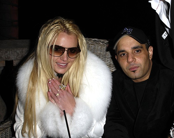 Britney Spears e Sam Lufti em 2007 (Foto: Getty Images)