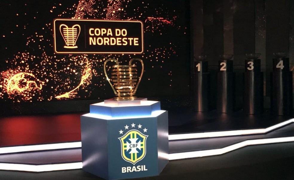 Taça da Copa do Nordeste  (Foto: Douglas Lunardi / CBF)
