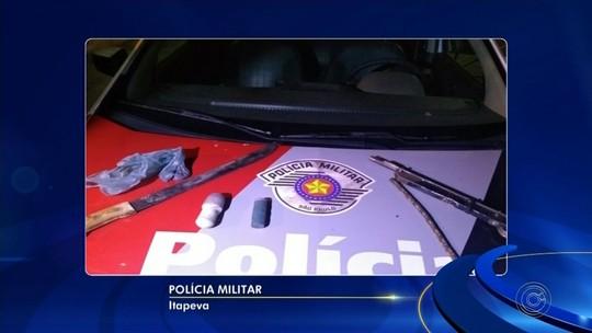 Homem é preso suspeito de esfaquear a mulher dentro de casa em Itapeva