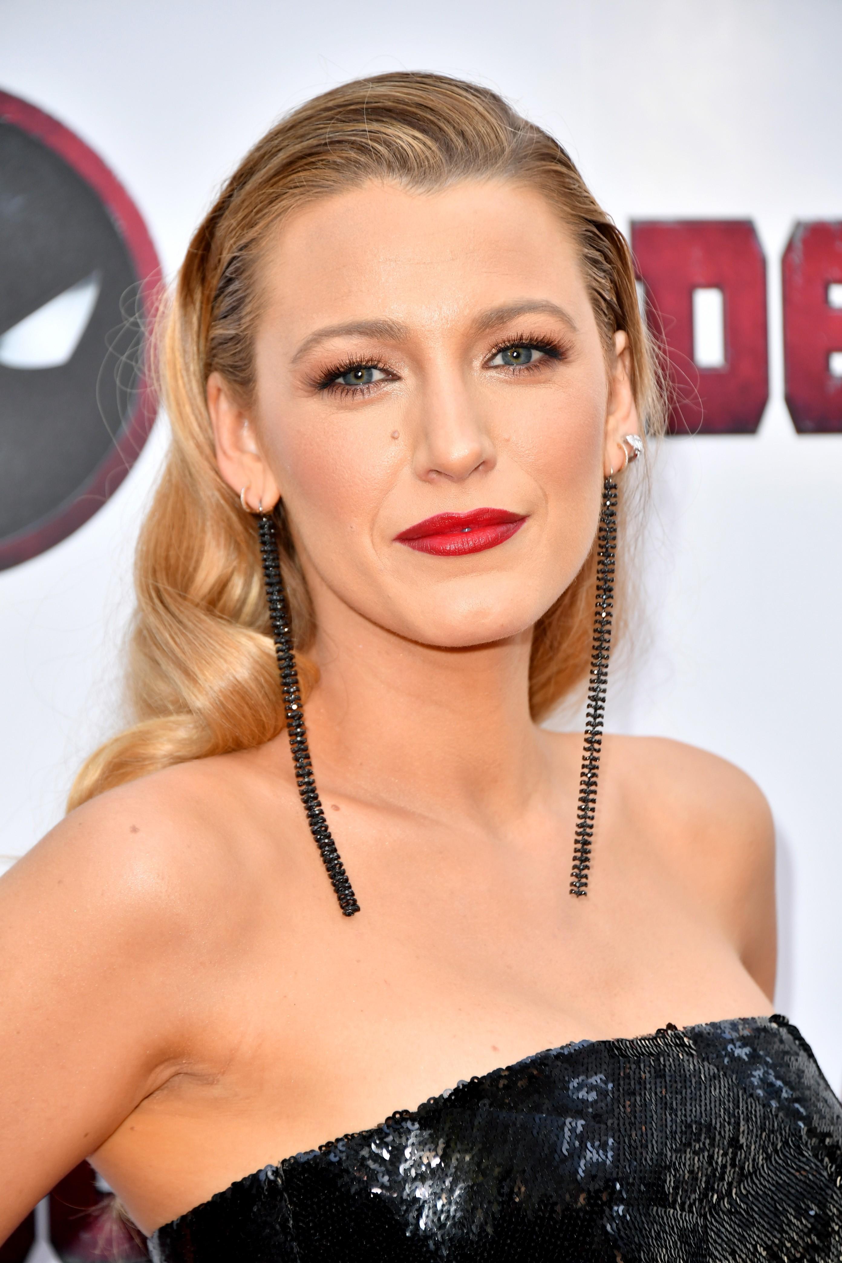 Blake Lively na estreia de Deadpool 2 em 14 de março em Nova York (Foto: Getty Images)