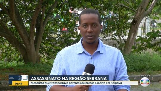 Motorista é assassinada em Itaipava, na Região Serrana