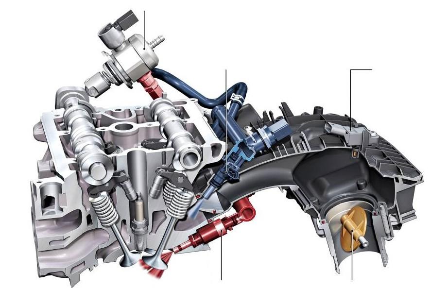 Grupo VW Motor EA888 (Foto: Divulgação)