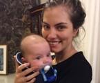Bruna Hamú com o filho, Júlio | Reprodução