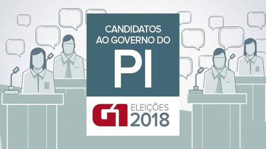 Candidatos ao Governo do Piauí nas eleições de 2018: saiba quem são