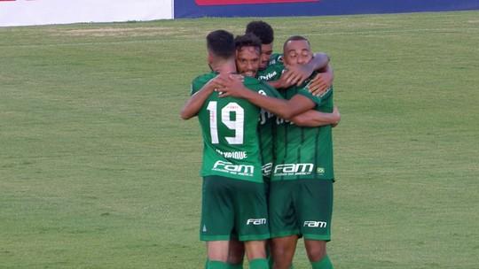 Pivô desde o futsal, Papagaio se credencia como opção para Borja no Palmeiras