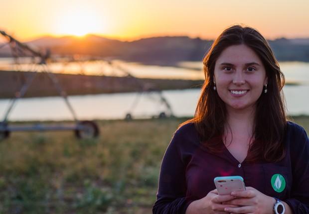 Mariana Vasconcelos, da Agrosmart (Foto: Divulgação - Agrosmart)