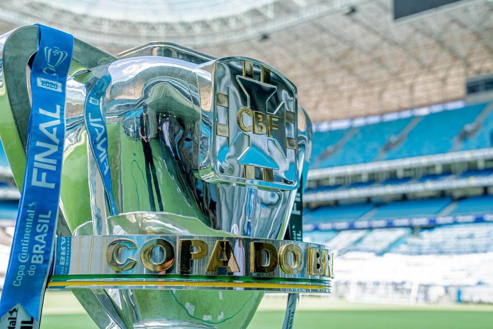 Taça Copa do Brasil — Foto: Avocado Midia/Copa do Brasil