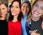 Alice Wegmann, Lorena Comparato, Fabiana Karla e Deborah Secco | Reprodução