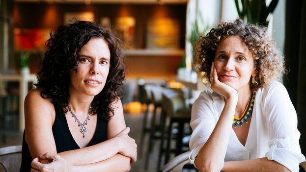 As diretoras Patricia Pérez Fernández e Heidi Hassan