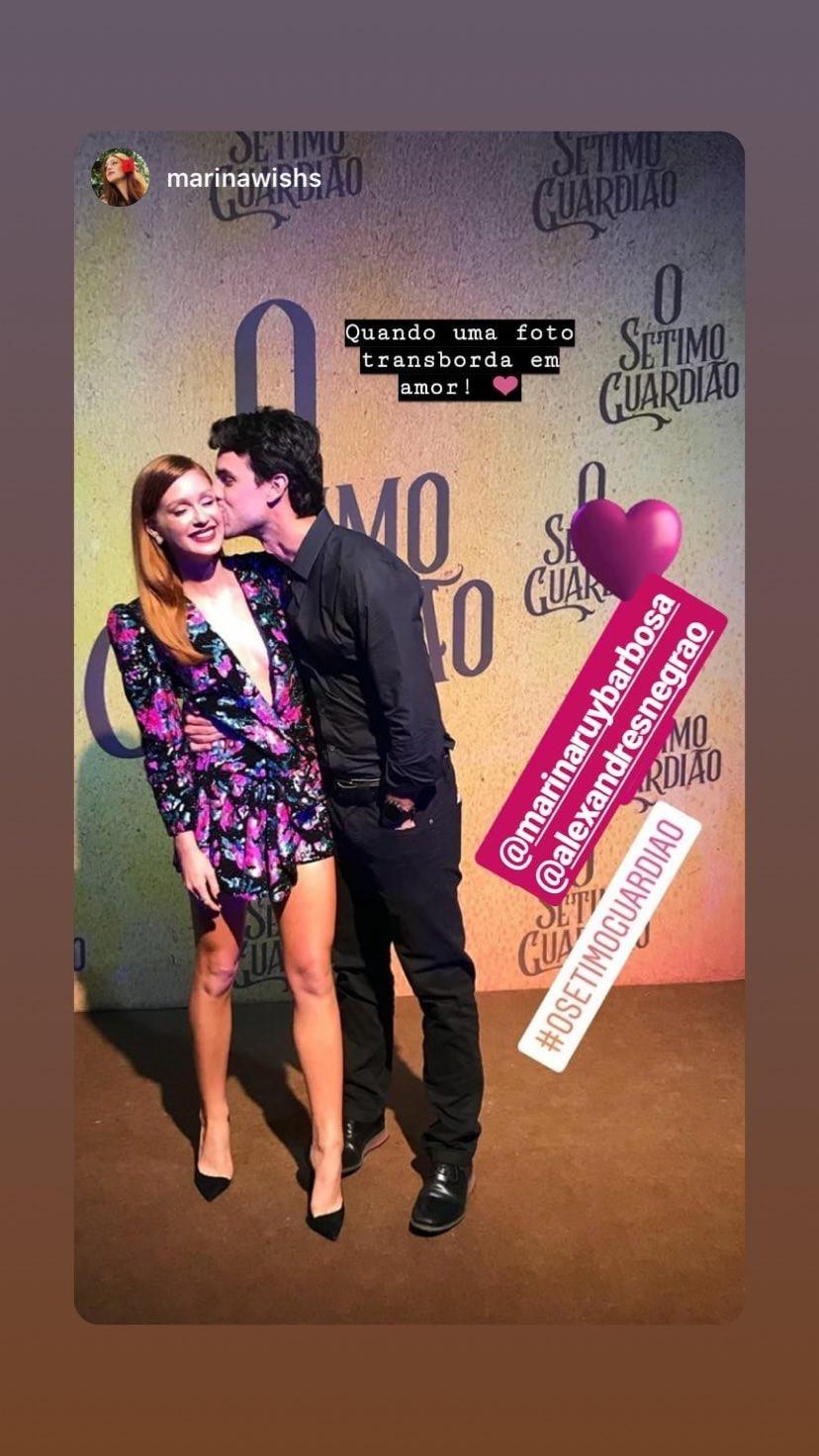 Marina Ruy Barbosa e Xande Negrão (Foto: Reprodução Instagram)
