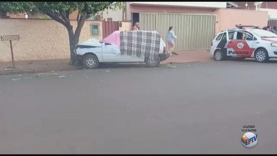 Homem é morto a tiros quando socorria a mulher, vítima de acidente em Morro Agudo, SP