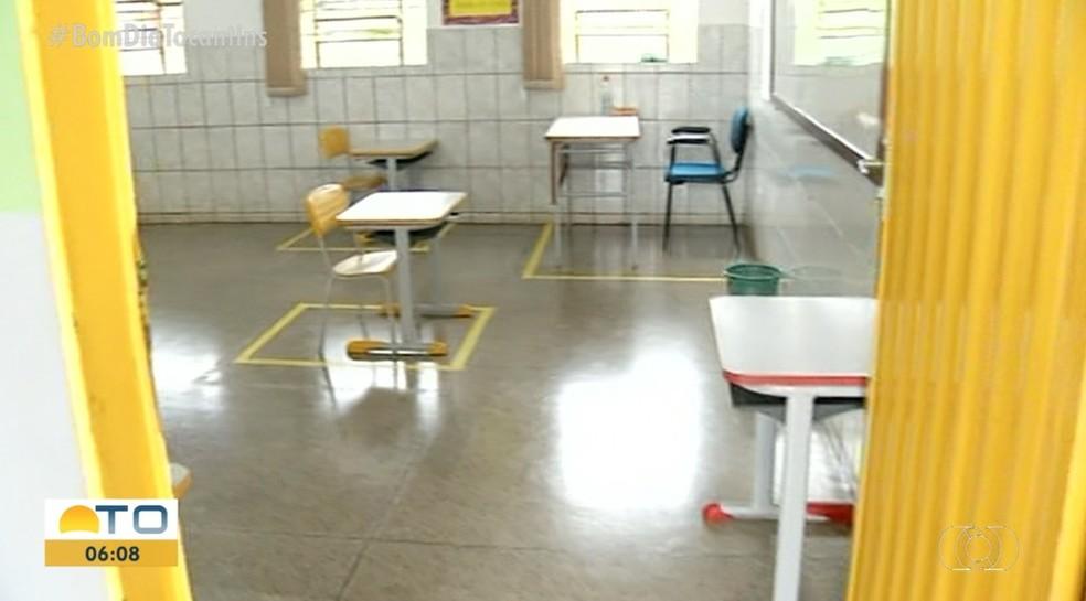 Aulas em Araguaína terão que ser presenciais, determina nova lei — Foto: Reprodução/TV Anhanguera