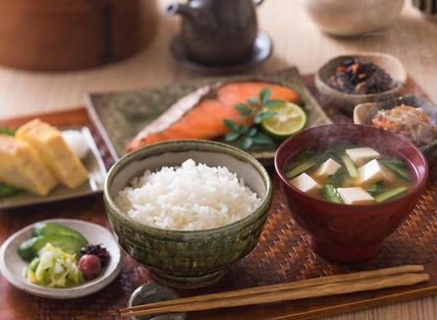 Café da manhã japonês (Foto: Pinterest/Reprodução)