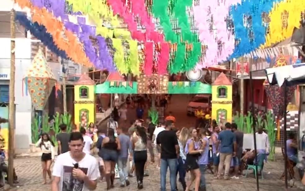 Prejuízo econômico de Ibicuí chega a R$5 milhões por causa do cancelamento dos festejos juninos na Bahia, diz prefeitura — Foto: Reprodução/TV Bahia