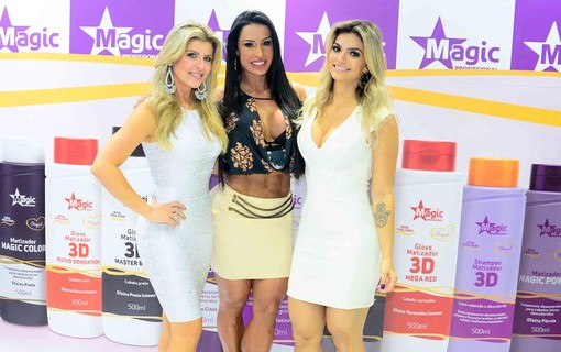 Iris Stefanelli, Gracyanne Barbosa e Kelly Key