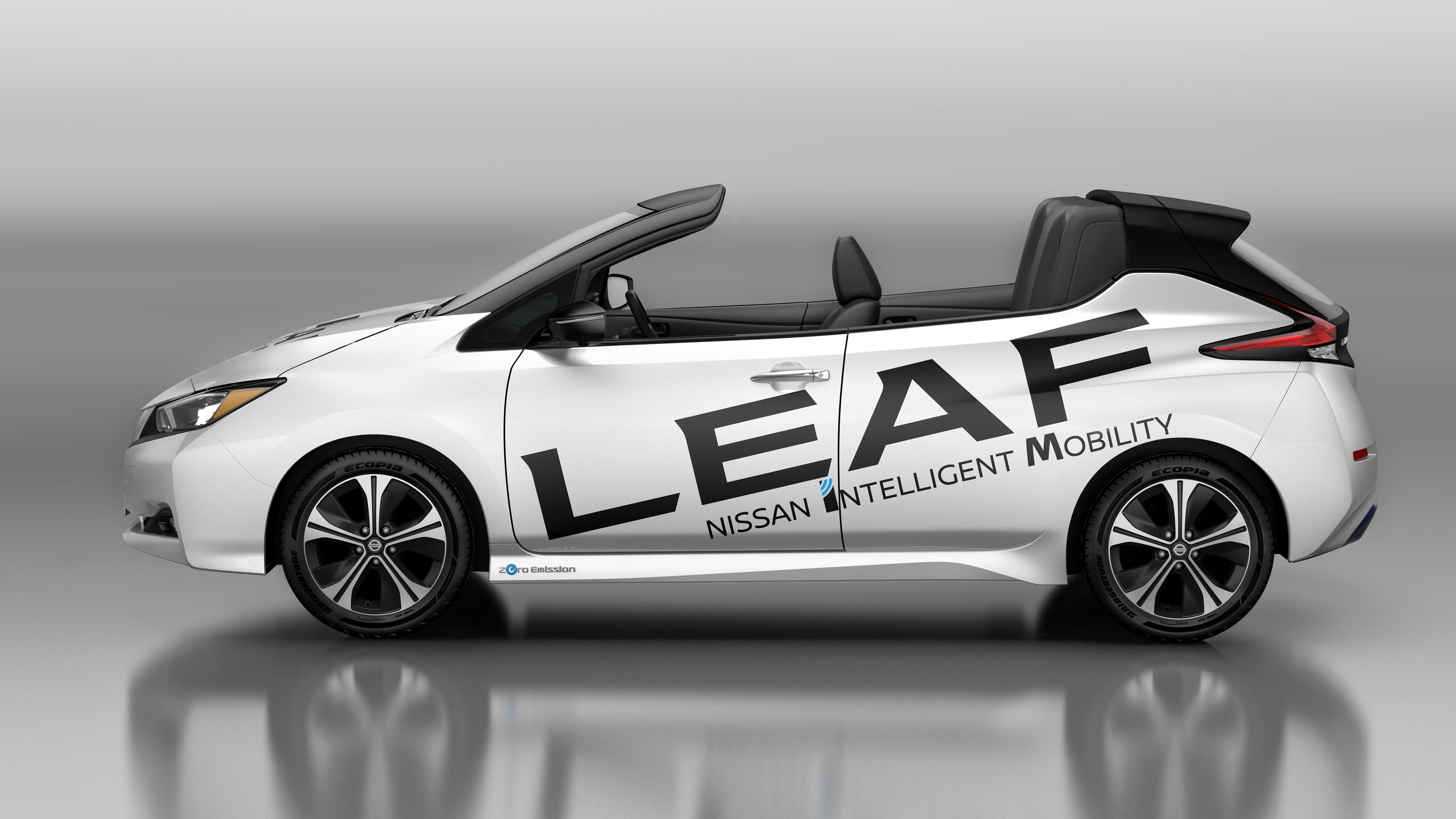 Nissan LEAF Conversível (Foto: Divulgação)