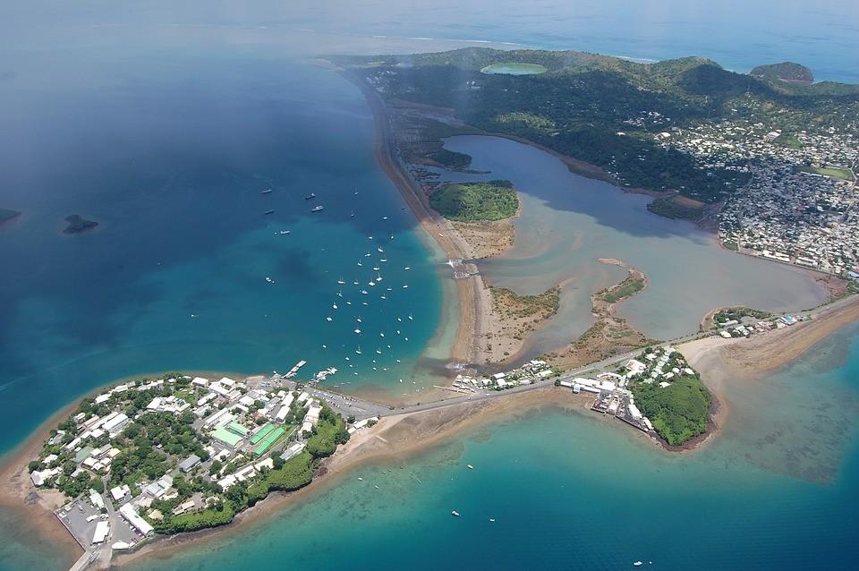 Ilha Mayotte, onde os sinais sísmicos podem ter surgido (Foto: Pixabay/Anymal2/Creative Commons)
