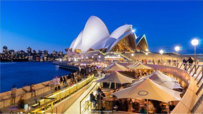 Uma cidade limpa e próxima ao oceano como Sydney, na Austrália, pode ser uma das melhores opções (Foto: Getty Images via BBC)