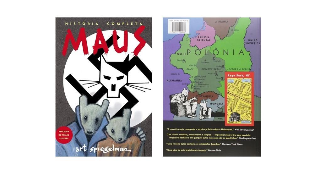Maus ganhou o Prêmio Pulitzer de literatura em 1992 (Foto: Divulgação/Amazon)