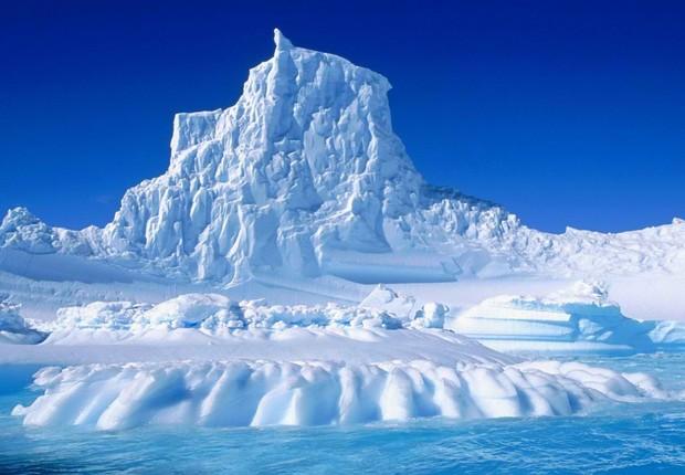 Região da Antártida (Foto: Reprodução/YouTube)
