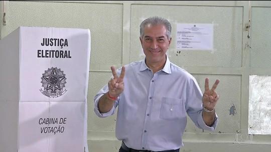 Reinaldo Azambuja (PSDB) é reeleito governador de Mato Grosso do Sul