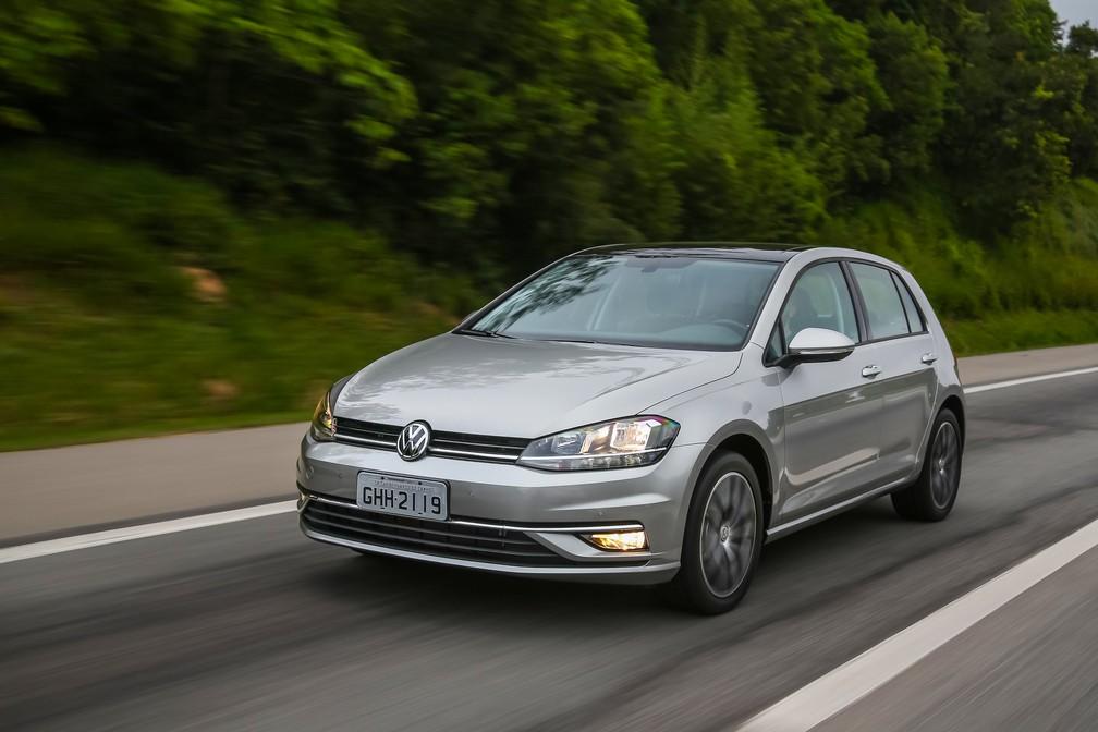 Volkswagen Golf 2018 — Foto: Divulgação