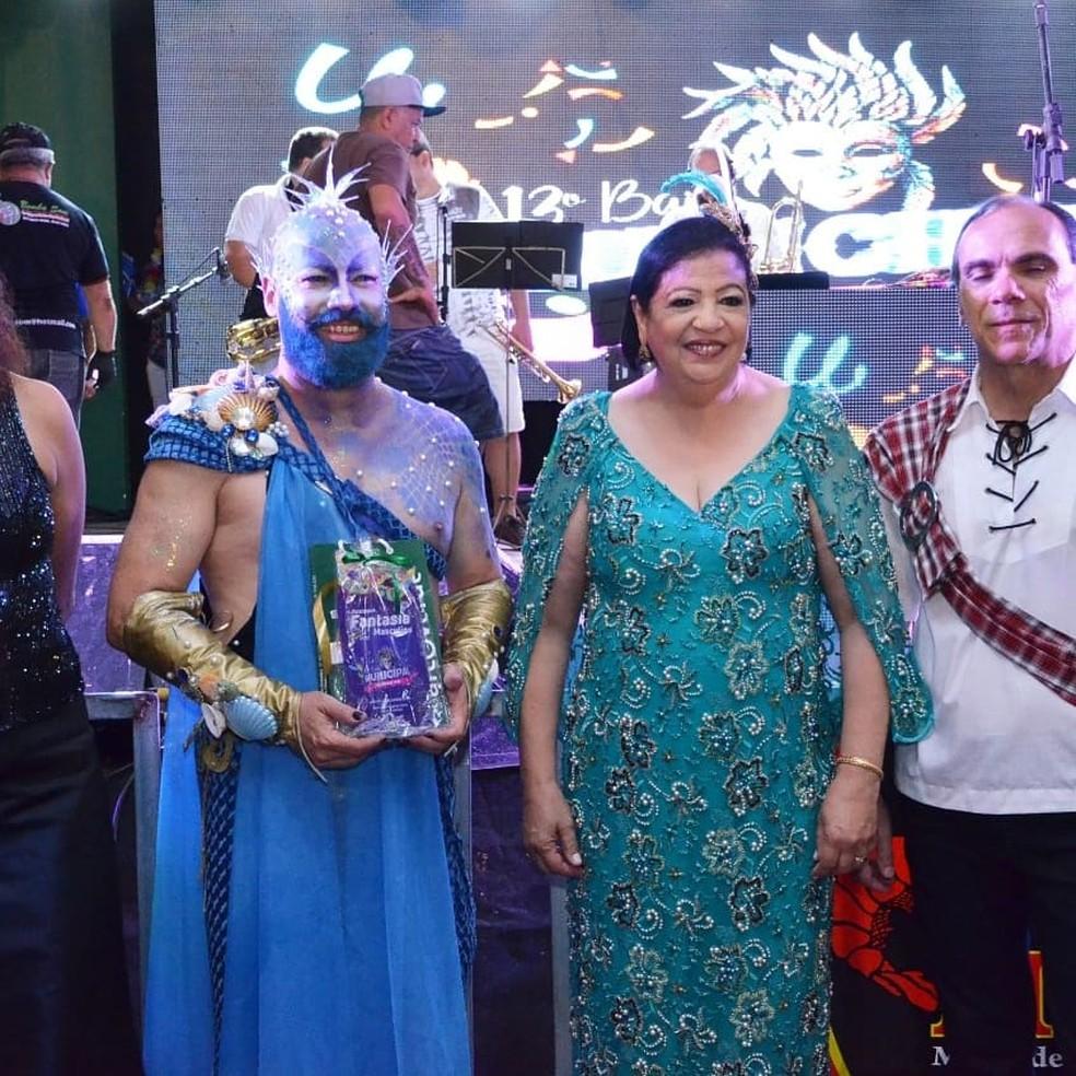 Concurso de Fantasias em Arcoverde — Foto: Robson Lima/Divulgação