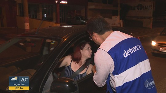 Blitz da Lei Seca do Detran-SP autua dez motoristas em Campinas; 258 veículos foram abordados