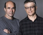 George Moura e Sergio Goldenberg   Victor Pollak/Globo