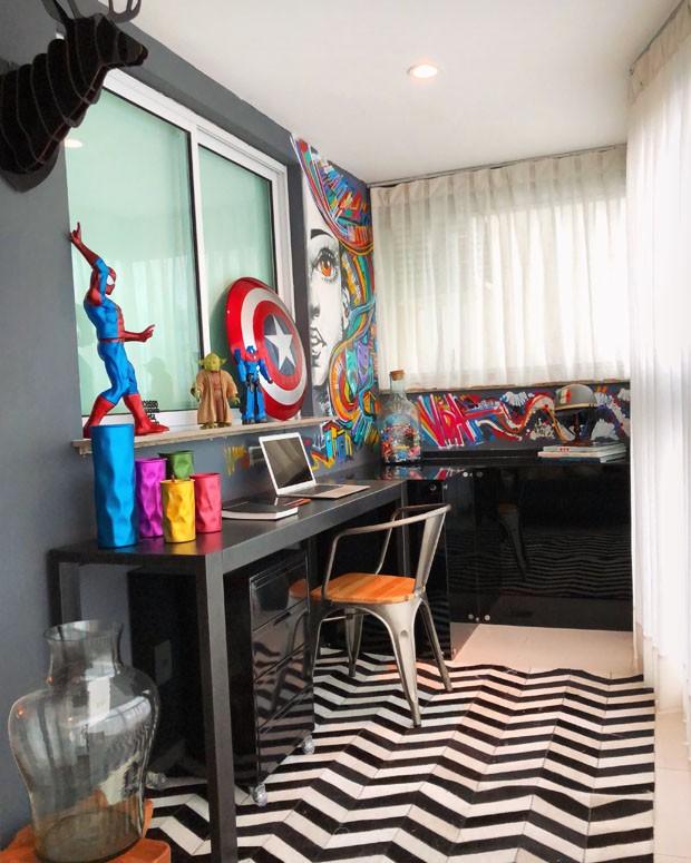 Osmar Silveira, de 'Segundo Sol', abre seu apartamento no Rio de Janeiro (Foto: Osmar Silveira)