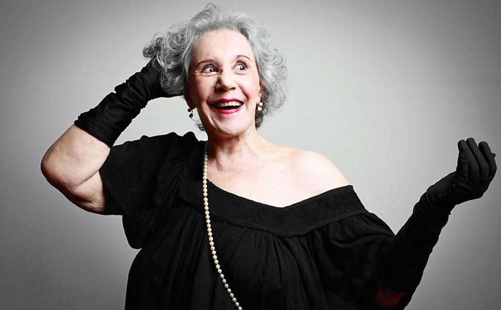 A atriz e diretora Maria Alice Vergueiro, de 85 anos. — Foto: Acervo Pessoal