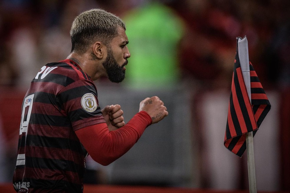 Gabigol é um dos principais reforços do Flamengo para 2019 — Foto: Pedro Martins/Foto FC