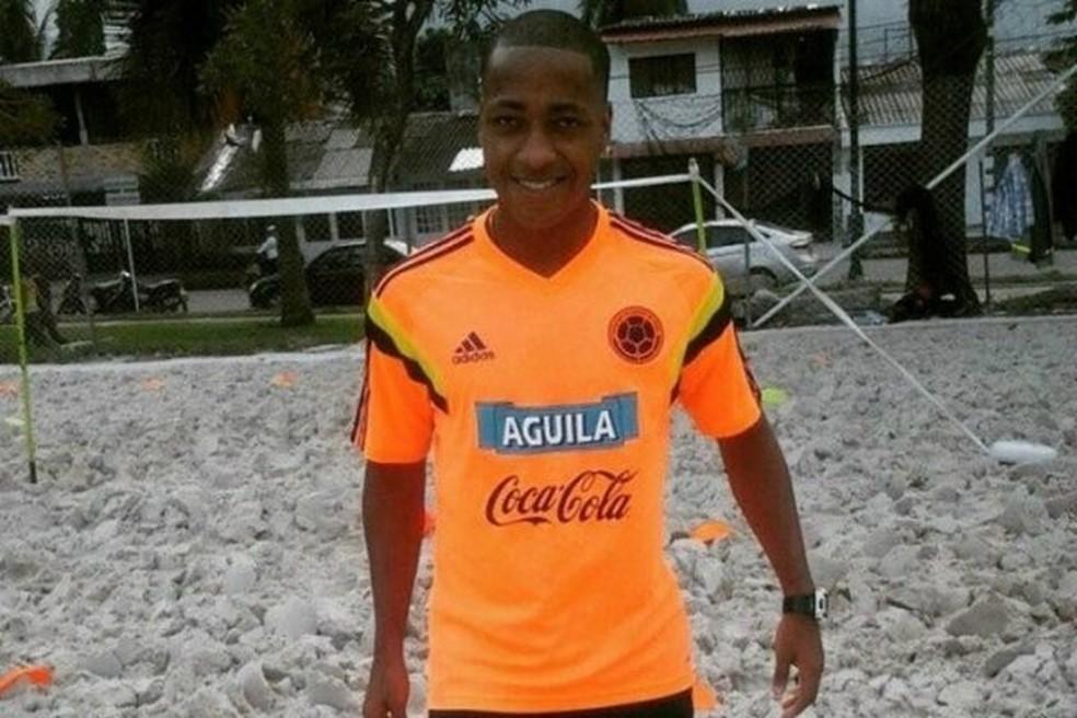 Marcos Prado Léon, conhecido como Colômbia, foi preso em estrada do Espírito Santo com 9 kg de maconha e 10g de crack (Foto: Divulgação)