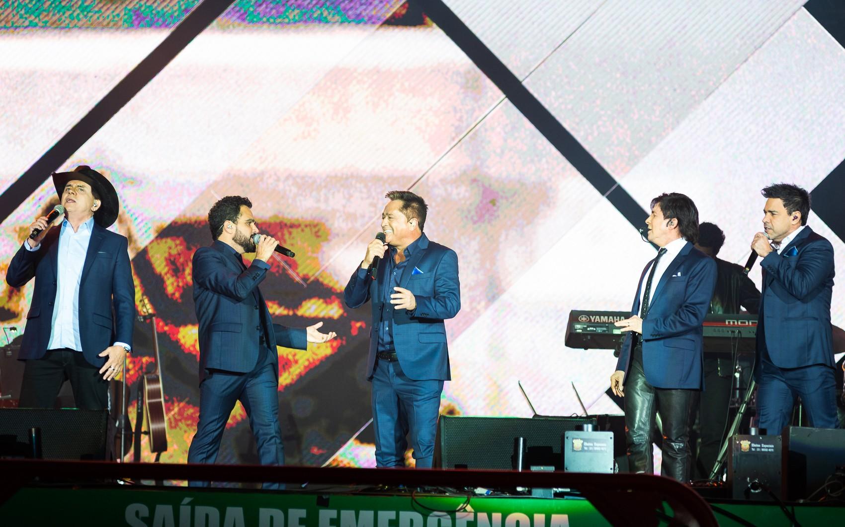 Show da turnê 'Amigos' em Ribeirão Preto, SP, é adiado pela 3ª vez por conta da Covid