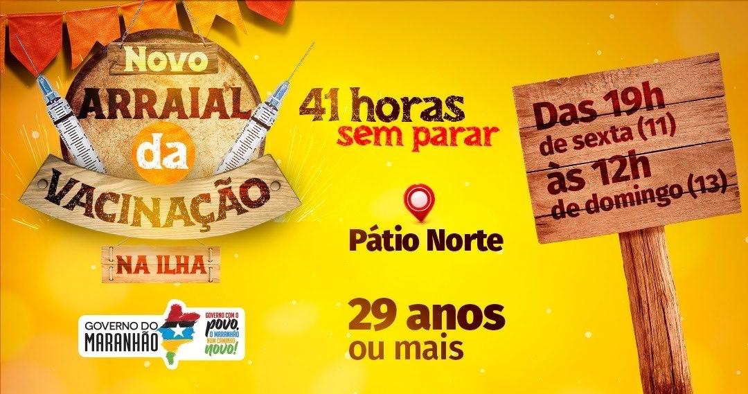 Campanha de vacinação no Maranhão