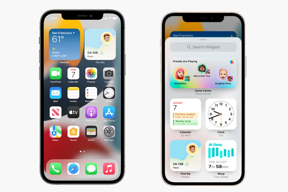 iOS 15 chega com otimizações na privacidade e nas personalizações dos aparelhos  — Foto: Reprodução/Apple
