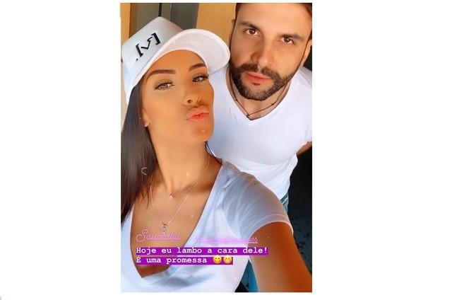 Ivy Moraes e Rogerio Fernandes (Foto: Reprodução)