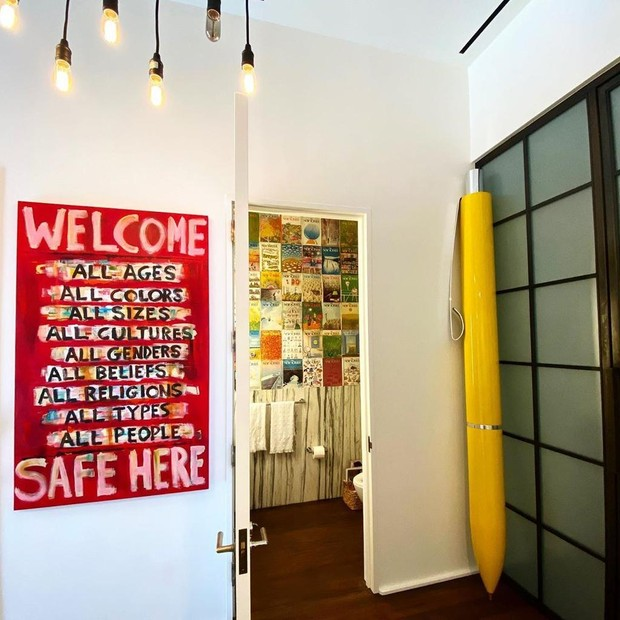 Por dentro do apartamento de Gigi Hadid em New York (Foto: Reprodução)