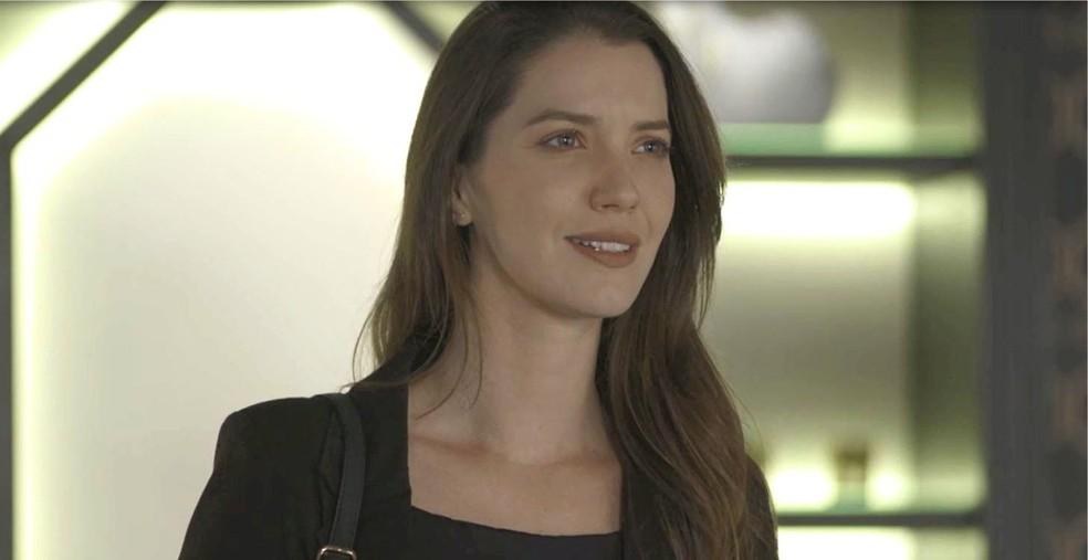 Fabiana (Nathalia Dill) afirma que ainda vai ser dar muito bem na vida, na novela 'A Dona do Pedaço' — Foto: Globo