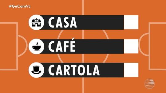 Casa, Café e Cartola: time da rodada #18 tem ataque galático e aposta no goleiro do Bahia