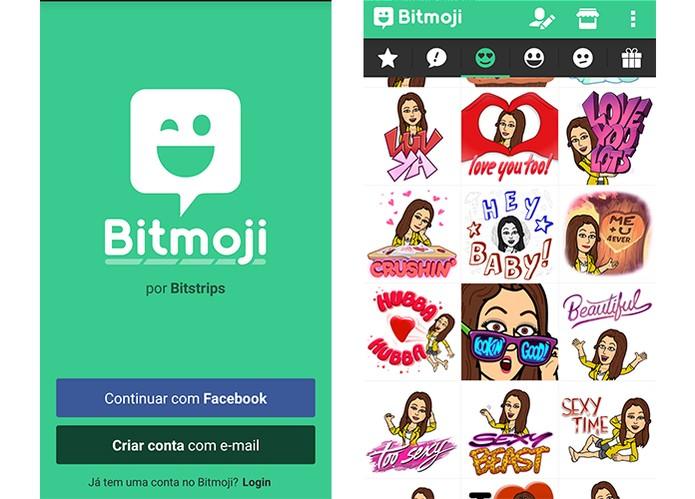 Emojis personalizados com avatares dos usuários (Foto: Reprodução/Barbara Mannara)